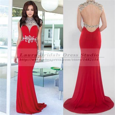 vestidos de gala formal backless mermaid prom dress