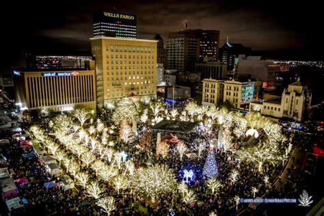 downtown el paso christmas lights info map downtown el paso set for season tree lighting parade el paso
