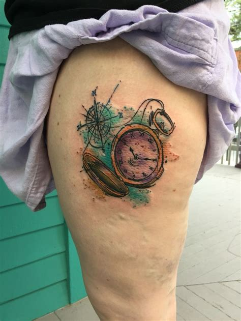 watercolor tattoo watch 124 best tattoos by kirkwood images on