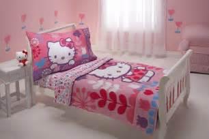 hello kitty 4 piece toddler bedding set everything kitty