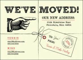 We Moved Cards Templates by We Ve Moved Postcards