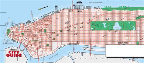 best map of manhattan printable map of manhattan my