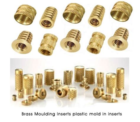Blind Threaded Inserts Brass Moulding Inserts Plastic Mold In Inserts 400