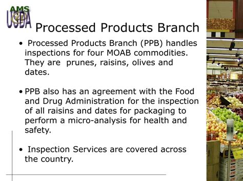 section 8 across the country ppt agricultural marketing service section 8e