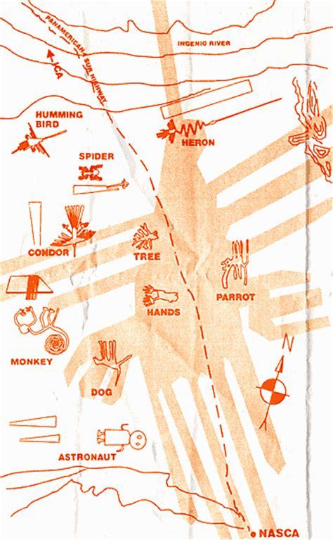 lines map nazca lines map cosmonautjavi