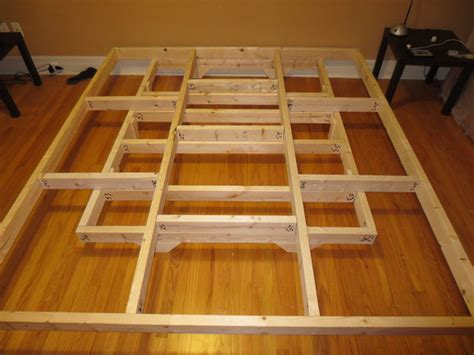 diy floating platform bed quot floating bed quot