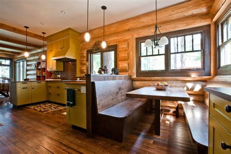 lake house kitchen kitchen by river city woodworks