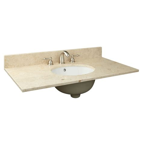 37 bathroom vanity top 37 bathroom vanity top 28 images shop allen roth santa cecilia granite undermount