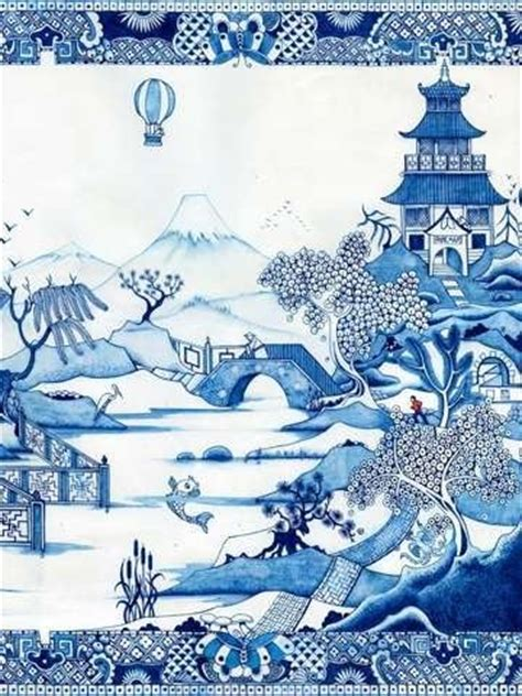 willow pattern wallpaper pinterest the world s catalog of ideas