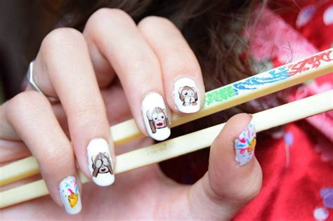 monkey nail for new year new year year of the monkey nail by i am