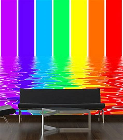 rainbow wall mural rainbow wall mural 2017 grasscloth wallpaper