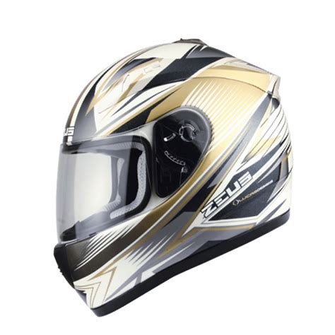 Helm Zeus Zs 612c White Size L motorcycle accessories helmets zeus zs 2000a helemet white gold buysellmoto