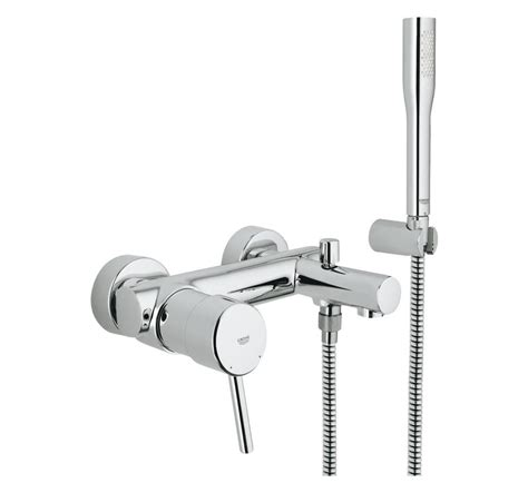 grohe bath shower mixer grohe concetto single lever bath shower mixer 1 2 quot 32212001