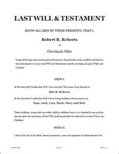 template for writing a will 25 best ideas about will and testament on