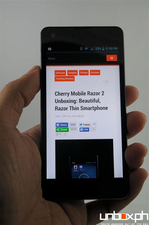 themes for cherry mobile razor 2 cherry mobile razor 2 0 review cm gets thin right www