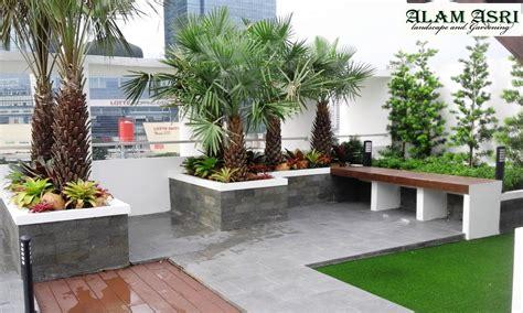 roof garden taman atap jakarta jasa tukang taman jakarta