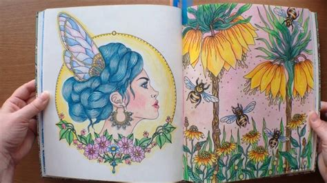 daydreams coloring book daydream daydreams dagdrommar by hanna karlzon colouring book flipthrough youtube