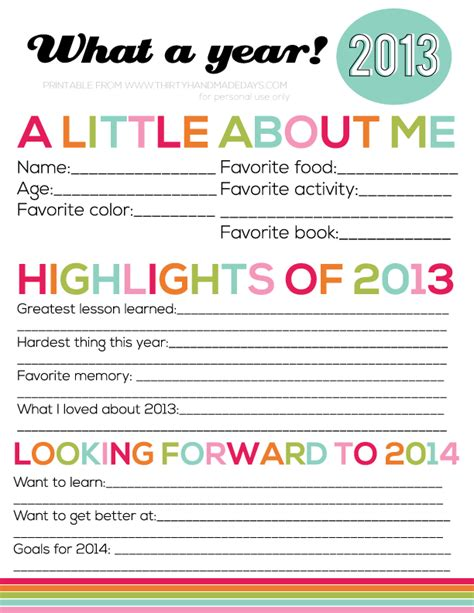 new year pictures to print a sprinkle of this and that free new year s printables