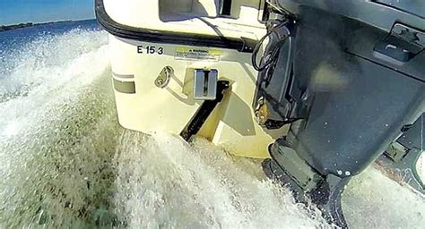 boat ladder with trim tabs how to videos for small boats trailering boatus magazine