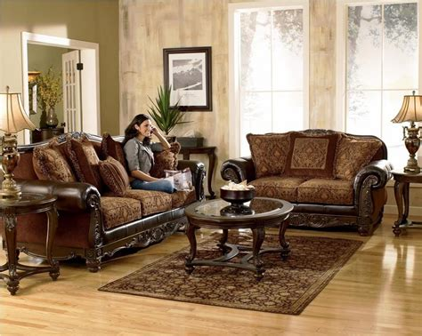 attractive cheap living room furniture set brown cream ashley furniture living room couch living room