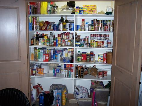 large country kitchen pantry