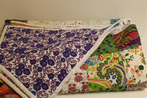 Kantha Patchwork Quilt - rukmani patchwork kantha quilt by reason season time
