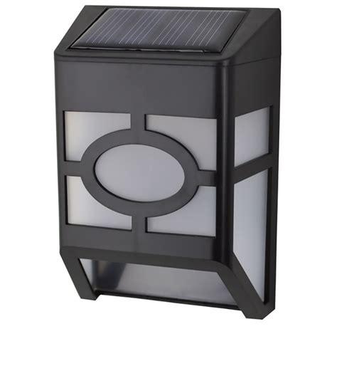 Outdoor Led Light Box Quace Solar Garden Led Light Box Wall Light By Quace Outdoor Lighting Furnishings