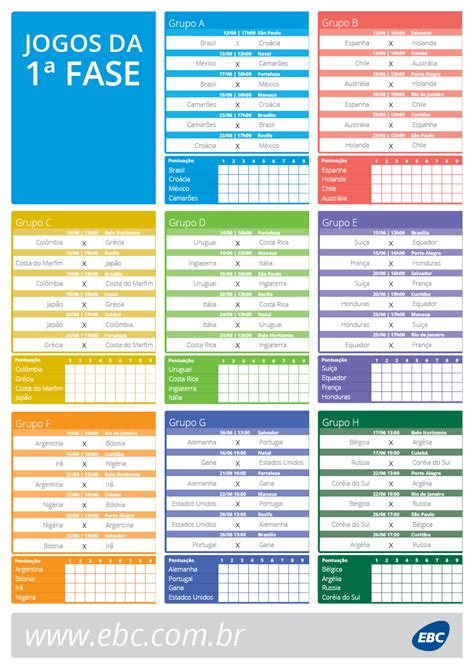 Calendario Año 2018 Colombia Ebc Baixe A Tabela Da Copa Do Mundo De 2014