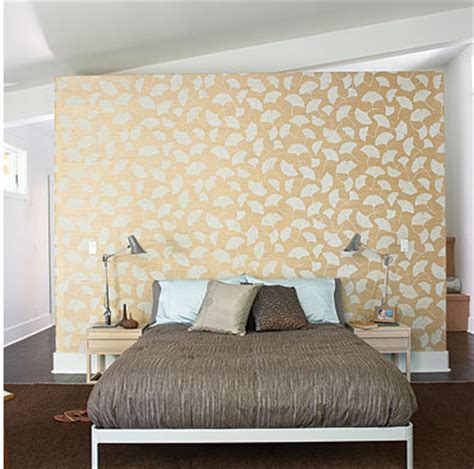 Wallpaper Headboards by Trends In Wallpaper Accent Walls Bossy Color