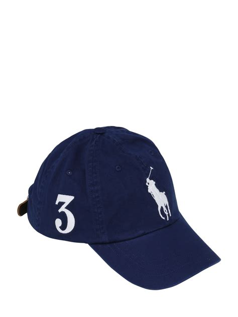 Terbaru Topi Baseball Polos Cotton Twill polo ralph big pony logo cotton twill baseball hat black accessories large discount