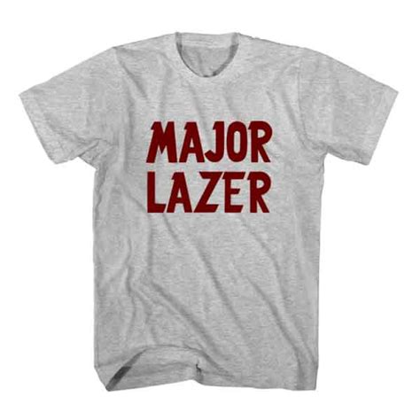 Major Lazer 4 T Shirt t shirt major lazer dj t shirt unisex ardamus dj t