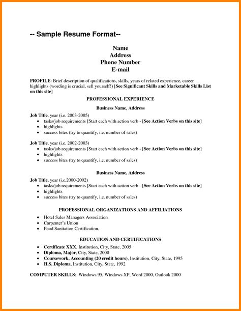 listing technical skills on resume exles resume ideas
