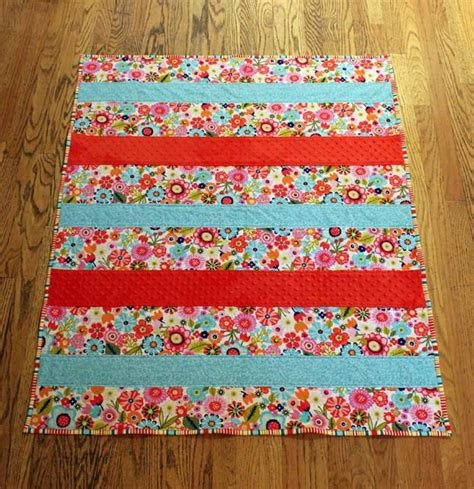 one day baby quilt tutorial favequilts