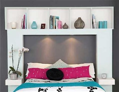 Build A Headboard With Shelves by Diy Bed Headboard Shelf Diy Craft Projects
