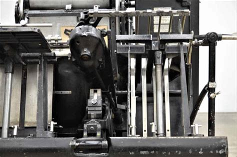 Original Heidelberg Compression 6 original heidelberg 13 x 18 windmill letterpress boggs equipment