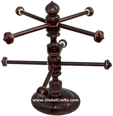 Handmade Bangle Stand - handmade wooden bangles stand from india handicrafts