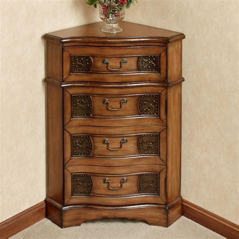 Cherry Dining Room Furniture by Cadiz Wooden Corner Accent Cabinet