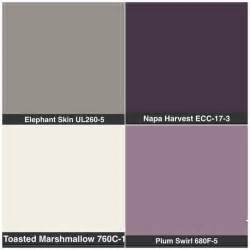 purple grey color best 25 purple bathroom ideas on