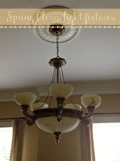 Spring Cleaning Light Fixtures Spring Cleaning 365 Cleaning Light Fixtures