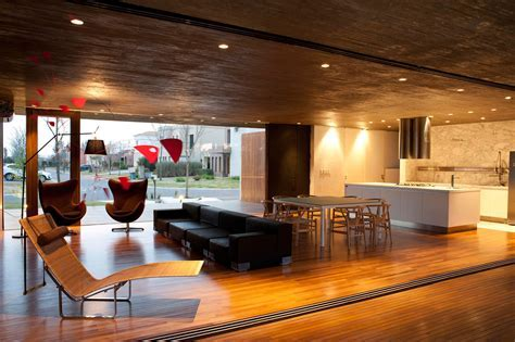 Open Kitchen Design with Modern Touch for Futuristic Home