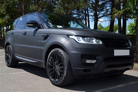 matte black range rover range rover sport matte black wrap reforma uk