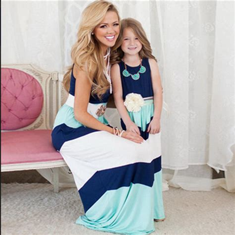 mother and daughter matching dress 2016 family matching mother daughter dresses clothes