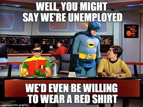 Red Shirt Star Trek Meme - star trek red shirts imgflip