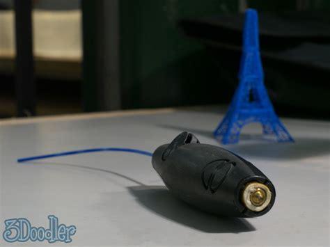 3doodler 3d Printer Pen Hits Kickstarter Slashgear