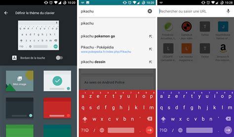 themes google store google keyboard 5 1 est disponible sur le play store avec