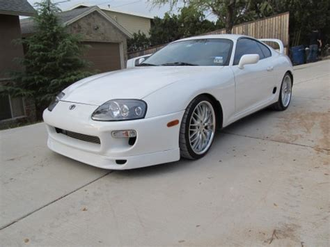 Toyota Supra White White 1994 Toyota Supra Toyota Supra For Sale