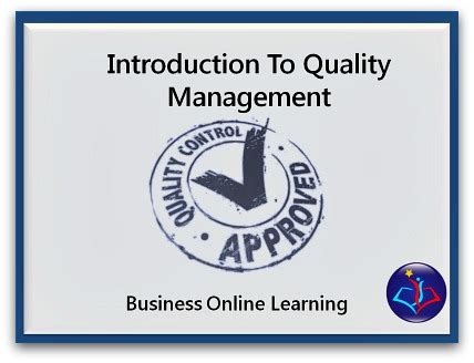 Distance Mba In Quality Management by Free Downloads And Resources