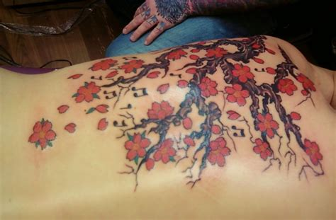 tattoo japanese blossom cherry blossom tattoos designs ideas and meaning
