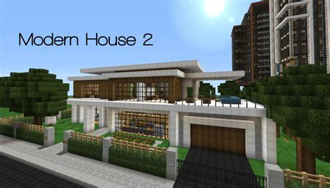 house mod modern house series 2 minecraft project