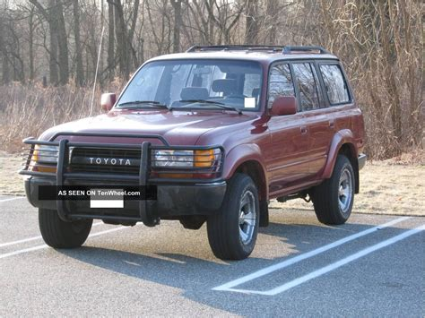 1992 Toyota Land Cruiser 1992 Toyota Land Cruiser Base Sport Utility 4 Door 4 0l